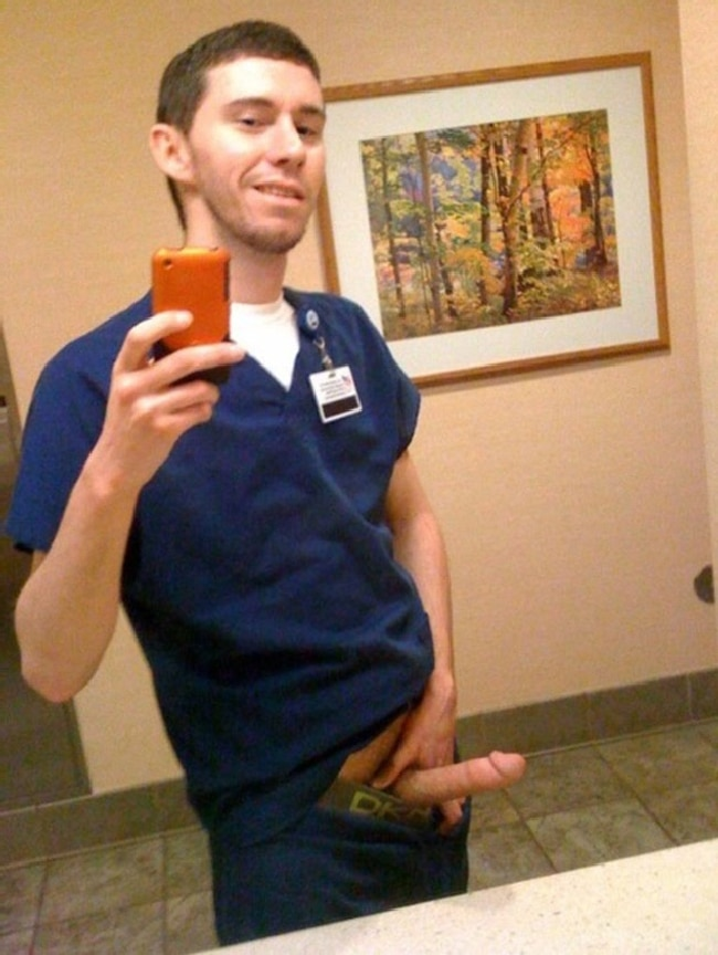 Male Nurse With Erection
