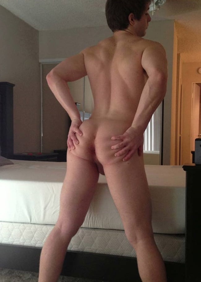 Nude Man Showing Ass