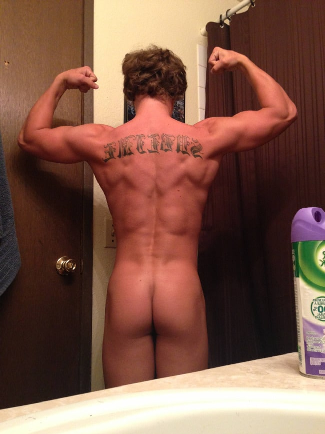 Muscle Boy Ass