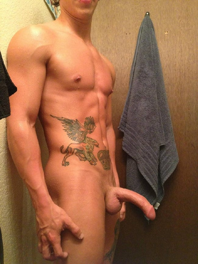 Nude Tattooed Boy