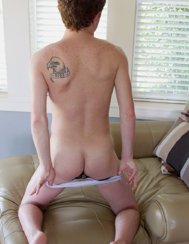 Boy Showing Ass