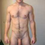 Hairy Nude Man With A Fat Cock