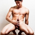 Sexy Nude Asian Man With A Thick Cock