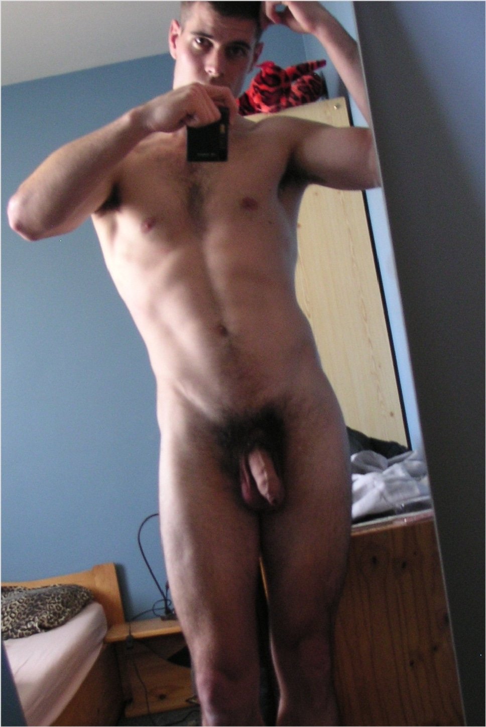 Are Thick hair men in nude cock