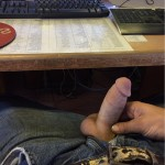 Horny Guy With A Short Thick Cock