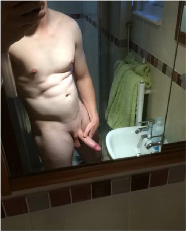 Nude Pale Guy